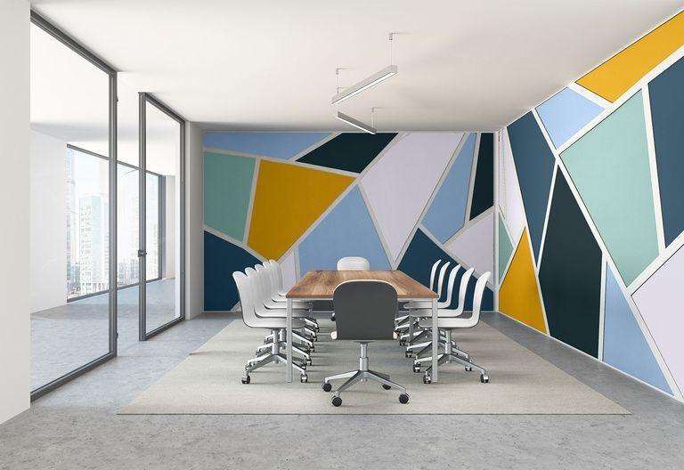 sơn nhà với màu sắc hiện đại
