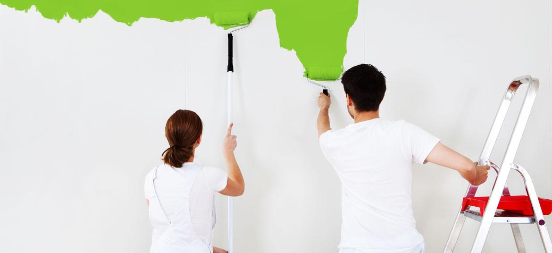 các thi công sơn nội thất