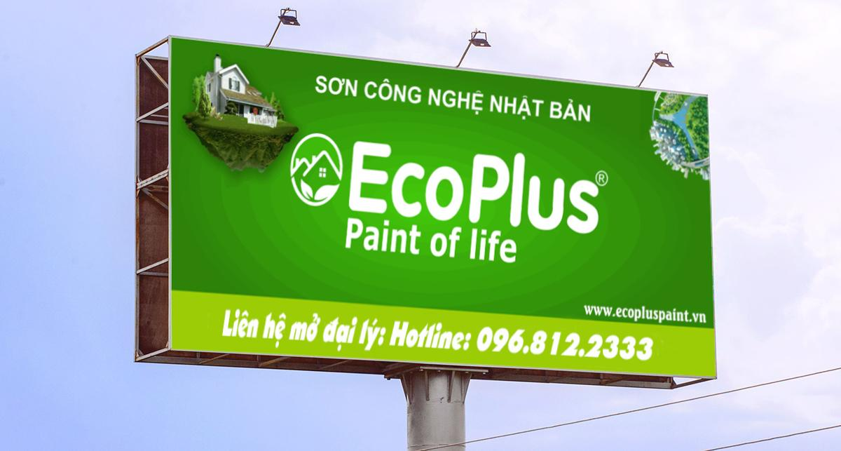 sơn Ecoplus tuyển đại lý bán sơn
