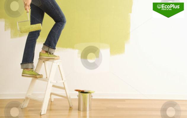 bí quyết sơn nhà tiết kiệm