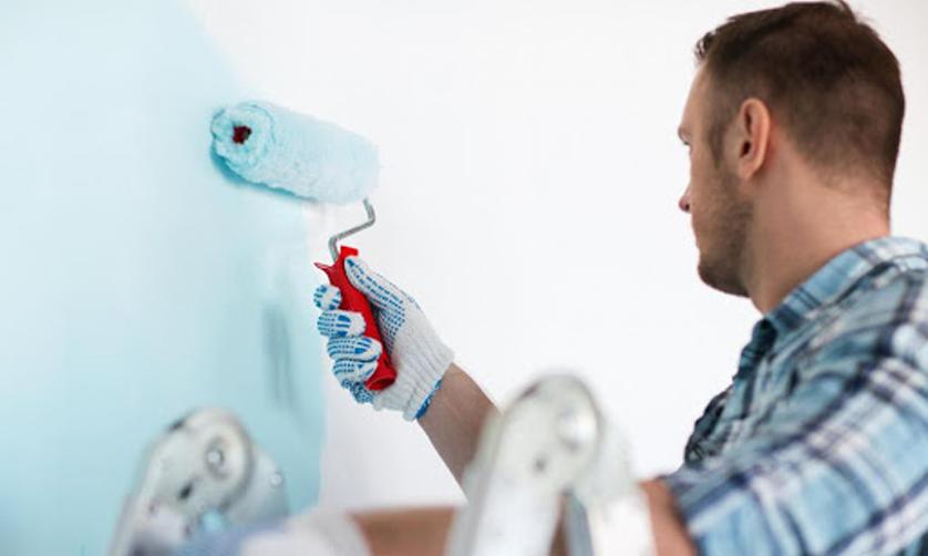 thợ thi công sơn ecoplus