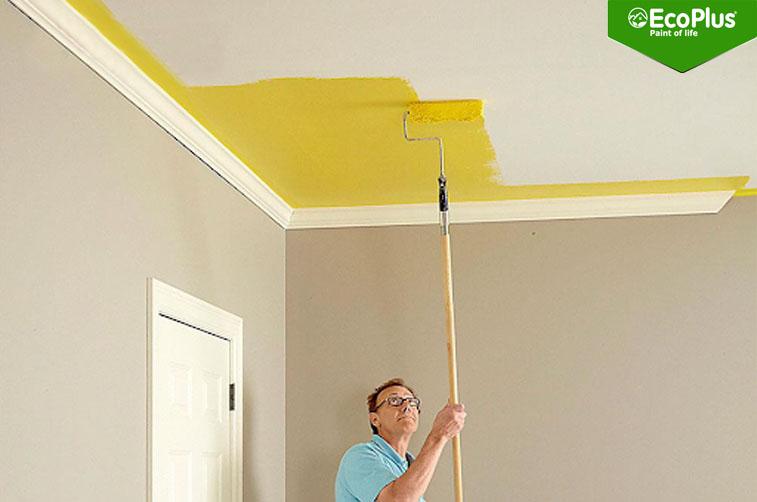 1kg sơn được bao nhiêu m2 tường 1