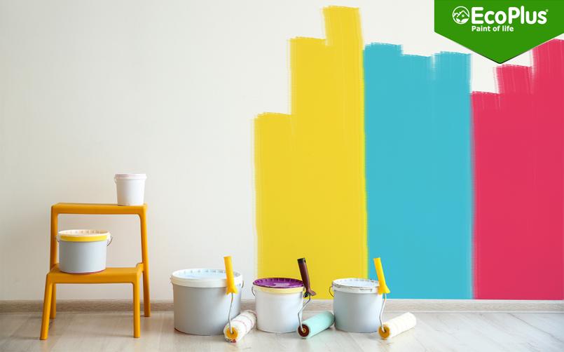 1 lít sơn pha bao nhiêu nước là chuẩn