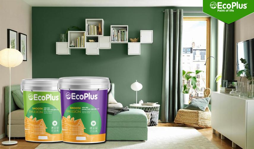 bảng màu sơn ecoplus 1