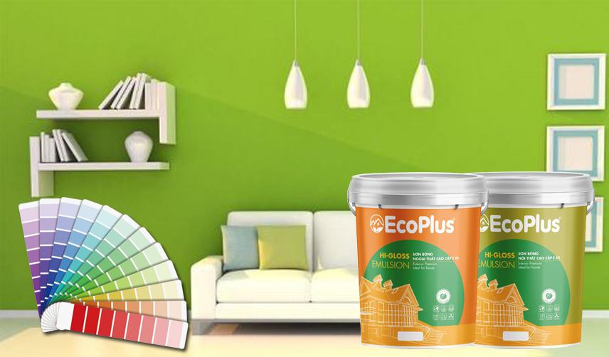bảng màu sơn ecoplus 2