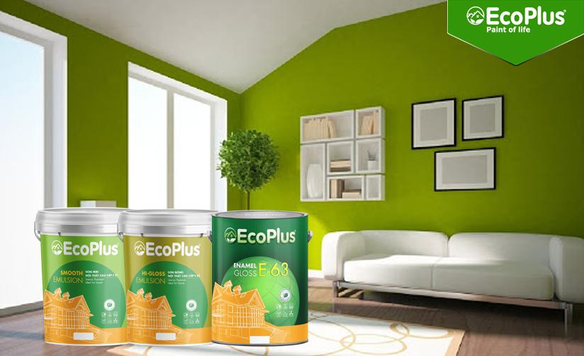 tư vấn hệ thống sơn trong nhà ecoplus