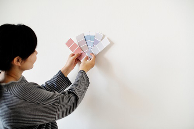 sơn nhà cùng tông màu