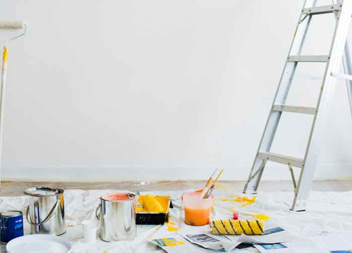 tính diện tích sơn nhà