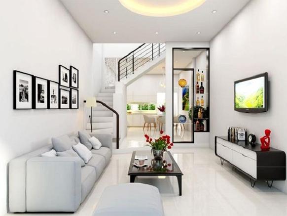 sơn phòng khách mệnh kim