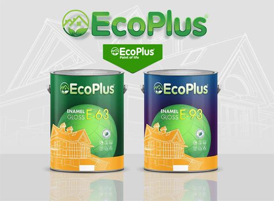 sử dụng sơn nội ngoại thất ecoplus